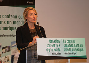 Federal Heritage Minister Mélanie Joly
