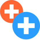 plus-signs-in-orange-and-blue-circles-01